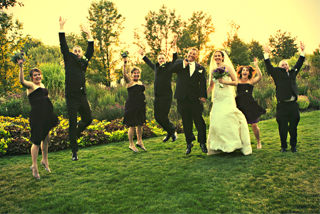 stellar events garden wedding party