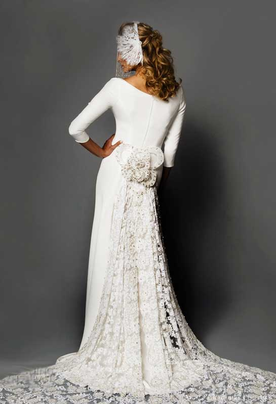 Wedding gowns for your unique body type stellar events for Full body wedding dress