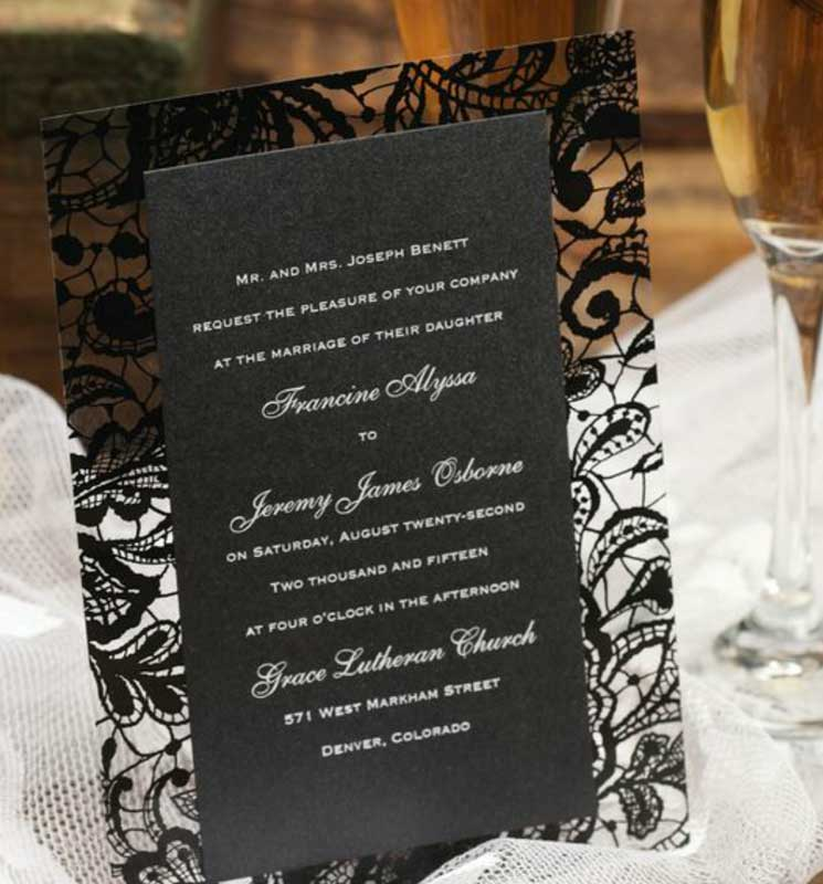 our favorite wedding invitation trends  stellar events, Wedding invitations