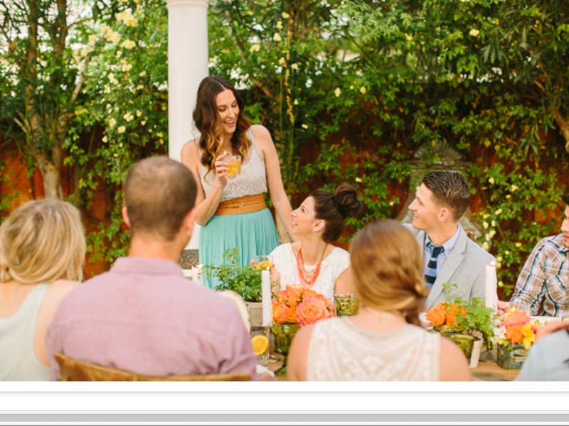 Wedding rehearsal dinner planning tips stellar events photo courtesy of 100 layer cake junglespirit Images