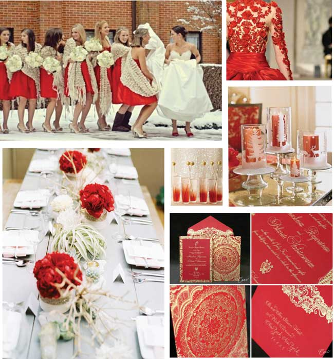 Red And White Wedding Supplies: Black red and white wedding flair ...