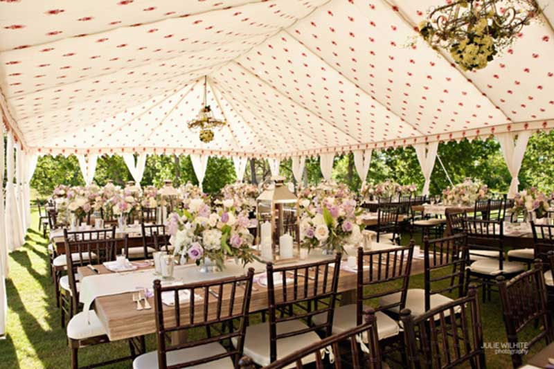 stellar-events-pic-wedding-tent - The Perfect Backyard Wedding Guide Stellar Events